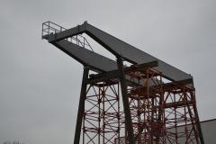 Dodávka portálového jeřábu GPMJ 40 t/11,5 m - předmontáž