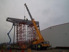 Portálový jeřáb GPMJ 40t/11,5 m, předmontáž