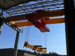 Dvounosníkový mostový jeřáb GDMJ - 50t, 15,4 m