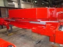 Výroba dvounosníkového mostového jeřábu GDMJ 50t-15,4m