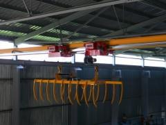 Jeřáb GJMJ 2 x0,8t-16m s drapákem