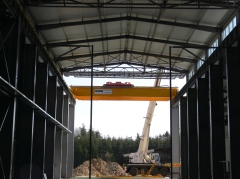Montáž mostových jeřábů v ELTRAF, sro
