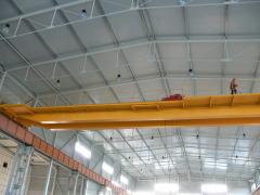 Mostový jeřáb GDMJ 12,5t-27,9m po rekonstrukci