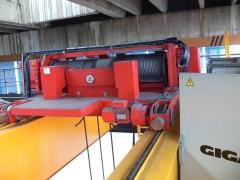 Mostový jeřáb GDMJ 8t/16,5m s kabinou a drapákem pro KOVOHUTĚ Příbram_3