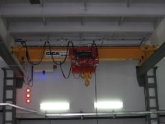 Mostový jeřáb GJMJ 10t-5,1m po montáž, Okulovka Rusko