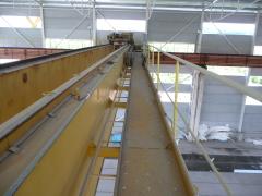 Mostový jeřáb SNINA 12,5t-27,9m před rekonstrukci