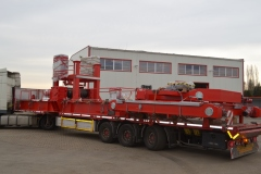 Nakládka jeřábu GDMJ 50t-15,4m