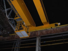 Oživení mostového jeřábu GDMJ 10t-35m, Viadrus