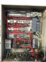 Portálový jeřáb v MCE Hyíregyháza - stav před modernizací