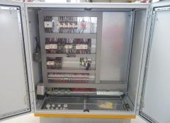 Portálový jeřáb v MCE Hyíregyháza po modernizaci - nový rozvaděč