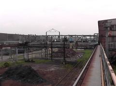 Původní jeřáb nahrazený novým mostovým jeřábem GDMJ 10t-35m