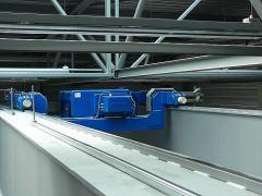Elektrické lanové kladkostroje GIGA - dvoukolejnicový lanový kladkostroj GIGA