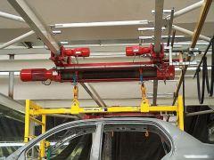 Kladkostroje GIGA - kladkostroj GIGA pro automobilový průmysl