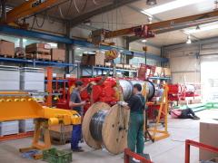Výroba jeřábu GHF 125t