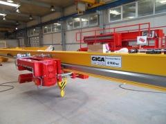 Výroba jeřábů GDMJ 40t, 16,73m a GJMJ 4,9t, 15,285m