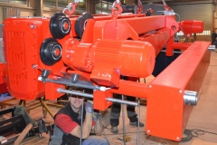 Výroba kladkostrojů pro cementárnu Sterlitamak