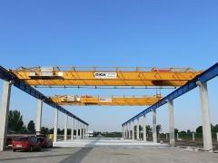 Dvounosníkové mostové jeřáby, 10