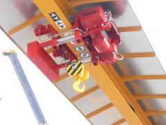 GPMJ 8t:13m venkovní portálový jeřáb, montáže Přerov, rok 2012, přistřešek