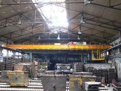 Mostové jeřáby GIGA - mostový jeřáb dvounosníkový GDMJ 5t:18,4m slévárenský s kabinou