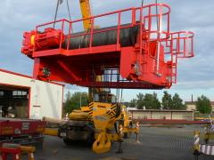 Mostové jeřáby GIGA o nosnosti 125t a 165t pro elektrárnu Počerady, 6