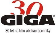 GIGA - 30 let na trhu zvedací techniky