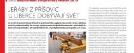Článek v časopisu TECH magazín - Jeřáby z Příšovic u Liberce dobývají svět