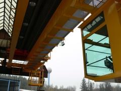 Mostový jeřáb GDMJ 8t/16,5m s kabinou a drapákem pro KOVOHUTĚ Příbram_2
