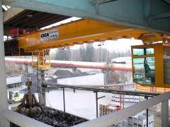 Mostový jeřáb GDMJ 8t/16,5m s kabinou a drapákem pro KOVOHUTĚ Příbram_4