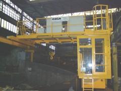 Mostový jeřáb GDMJ, po montáži