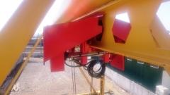 Portálový jeřáb s kladkostrojem GIGA v přistavě Nachodka