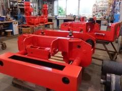 Výroba kladkostrojů pro Uralkhim