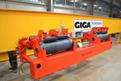 Výroba mostového jeřábu GJMJ 1,8t+1,8t-27,5m