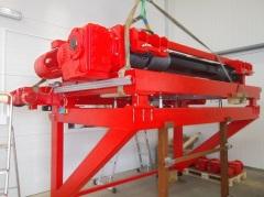 Výroba konzolového kladkostroje pro SSI Schafer