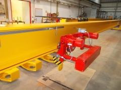 Výroba mostových jeřábu pro SSI Schafer