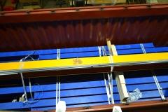 Zámořské balení jeřábu a jeřábové dráhy pro Mexiko